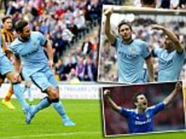 martin samuel: frank lampard is lethal, one of a dying breed of goalscoring midfielders... that's why city love him
